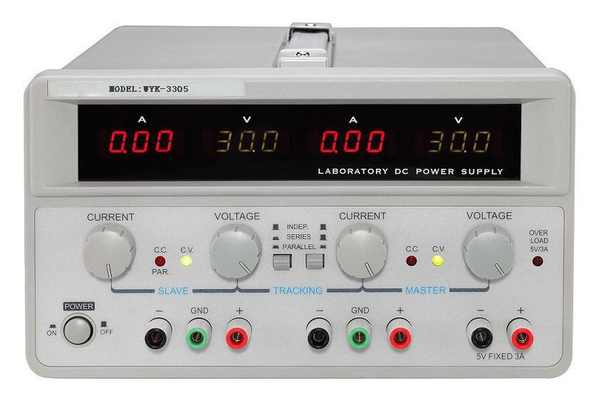 线性双路直流电源 wyk-3305